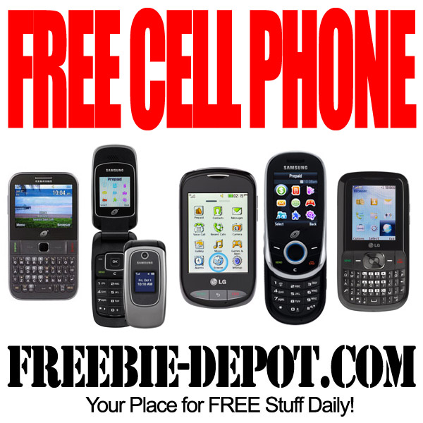 Free Cell Phones >> Free Cell Phone Freebie Depot