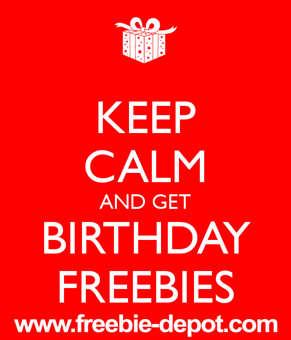 700+ BIRTHDAY FREEBIES 2015