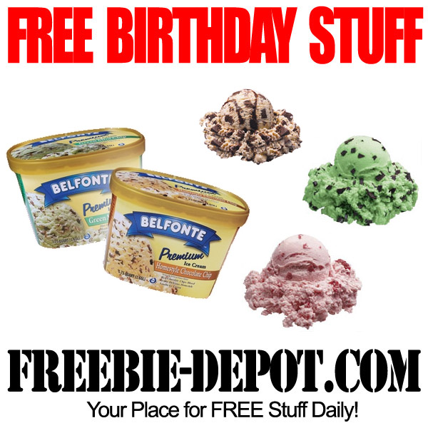 Free Birthday Stuff Ice Cream