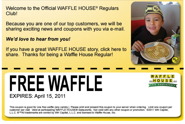 FREE Waffles!