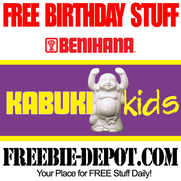 Free Birthday Benihana Kids
