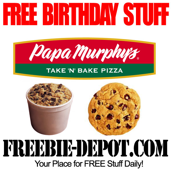 Free Birthday Cookie Dough