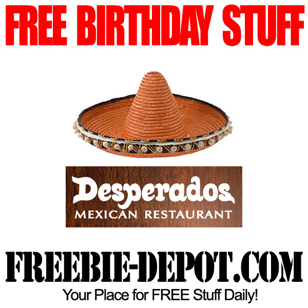 Free Birthday Mexican