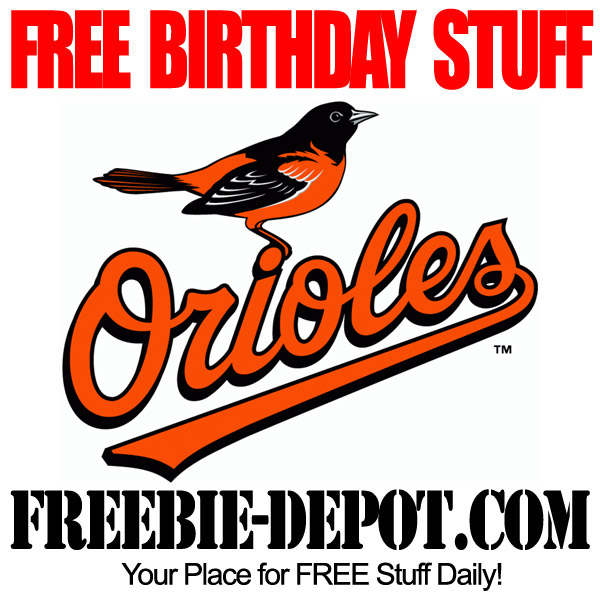 Free Birthday Baseball