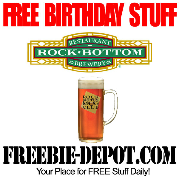 Free Birthday Beer