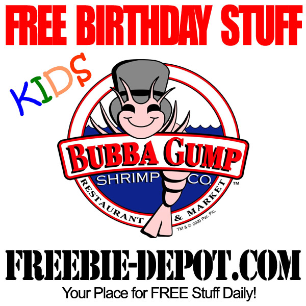 FREE Birthday Kids Shrimp