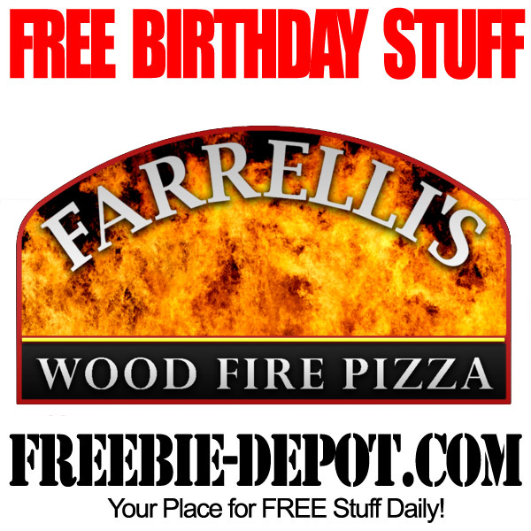 Free Birthday Wood Fire Pizza