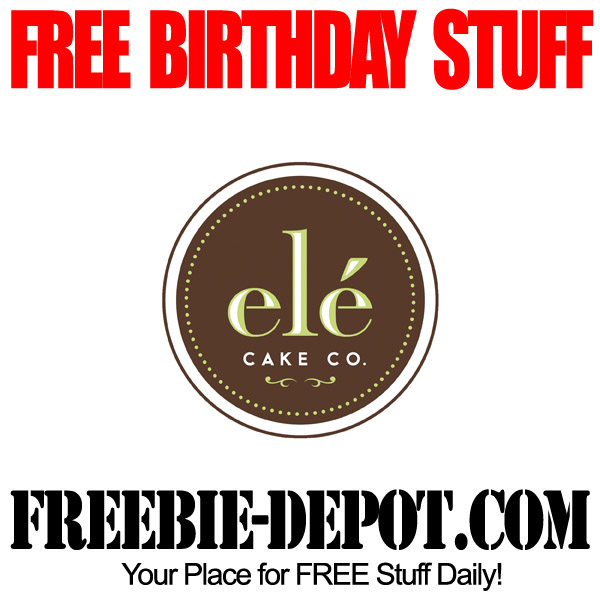 FREE BIRTHDAY STUFF ele Cake Company Birthday Freebie Cupcake