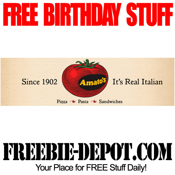 FREE Italian Birthday Food