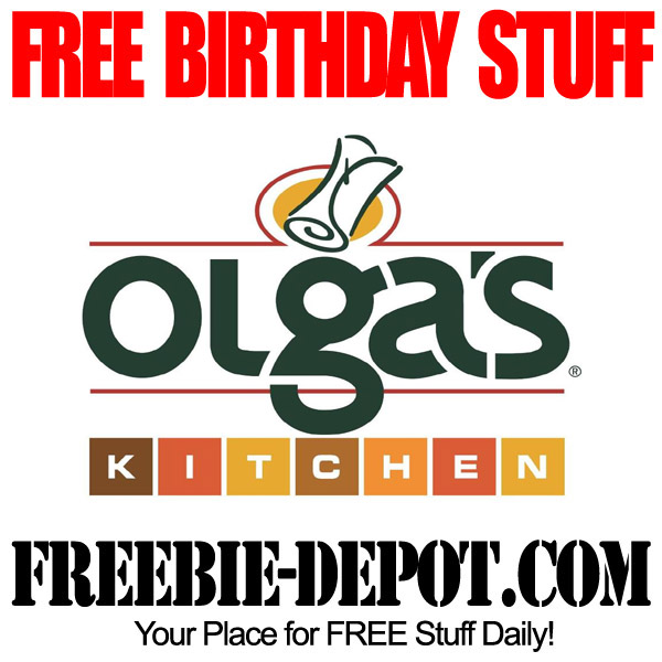 Free Birthday Olgas