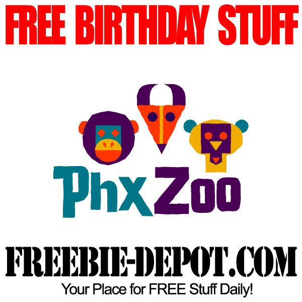 Free Birthday Zoo Admission