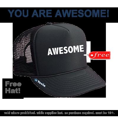 FREE Hat!