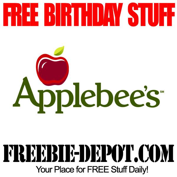 Free Birthday Meals ~ Free birthday stuff applebee s freebie depot