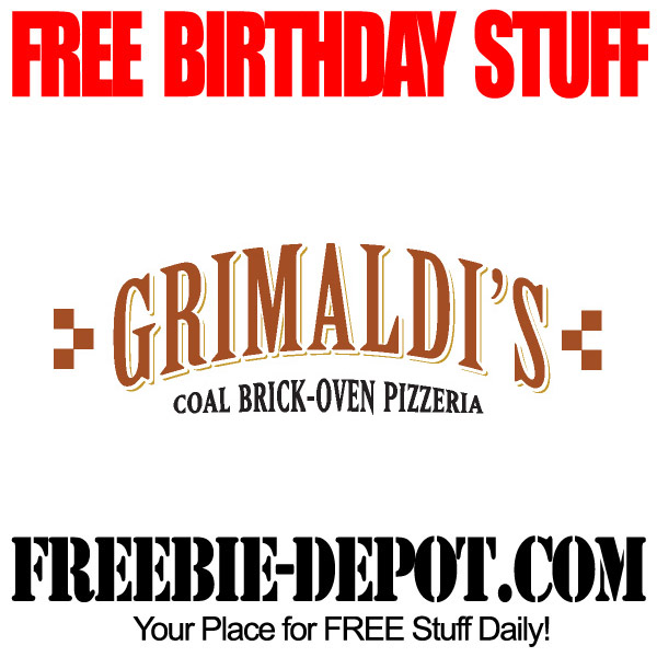 Free Birthday Brick Oven Pizza