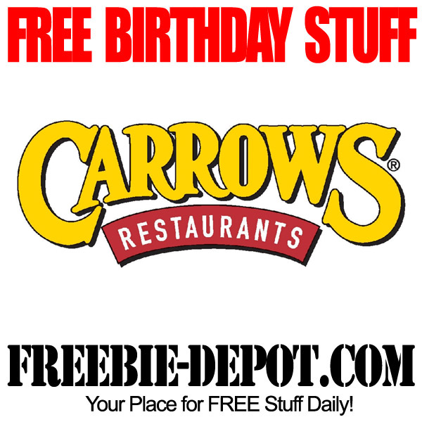 Free Birthday Cake Carrows