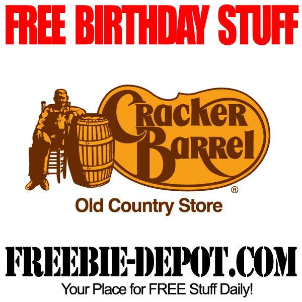 Free Birthday Cracker Barrel