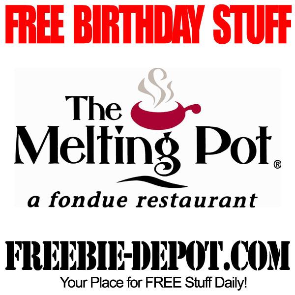 Free Birthday Fondue