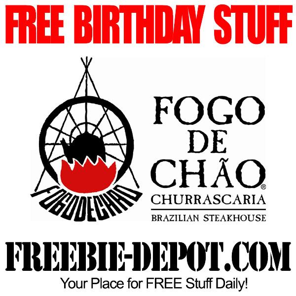 Free Birthday Brazilian Dessert