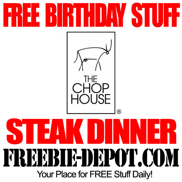 Free Steak Dinner for your Birthday