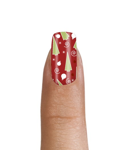 Free Christmas Nail Decals