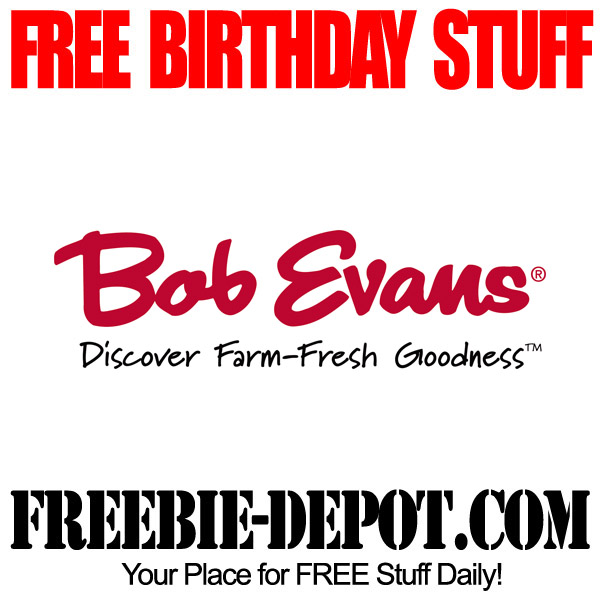 Free Kids Birthday Meal at Bob Evans