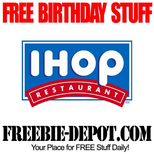 Free Birthday Pancakes