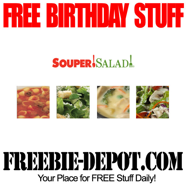 Free Birthday Souper Salad
