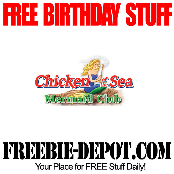 Free Birthday Chicken of the Sea
