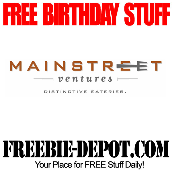 Free Birthday Meal and Dessert