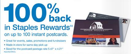 Free After Rebate Postcards