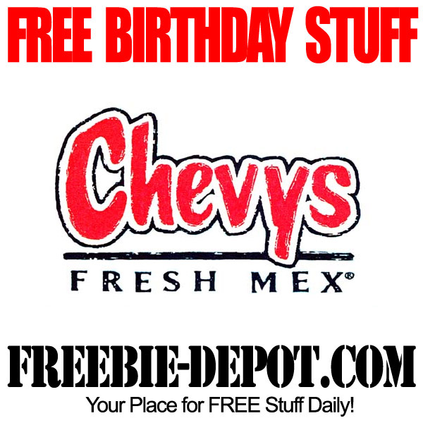 Free Birthday Chevys