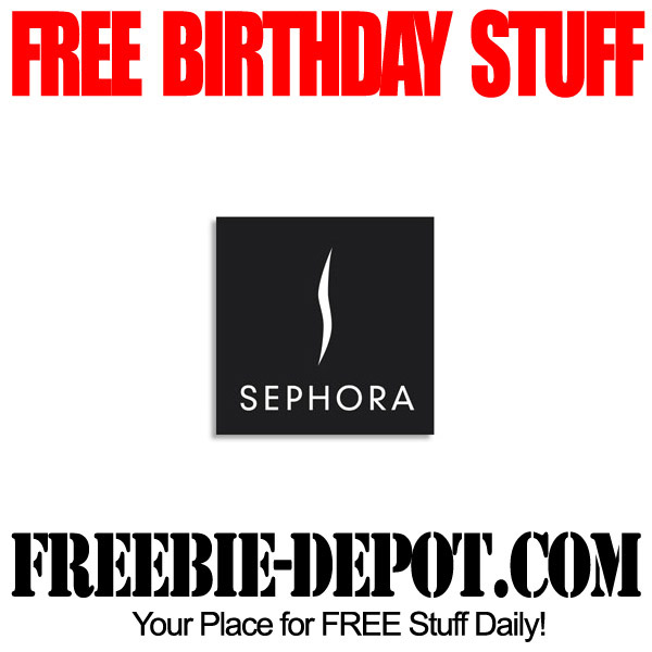 Free Birthday Stuff at Sephora
