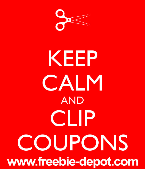 Keep Calm and Clip Coupons