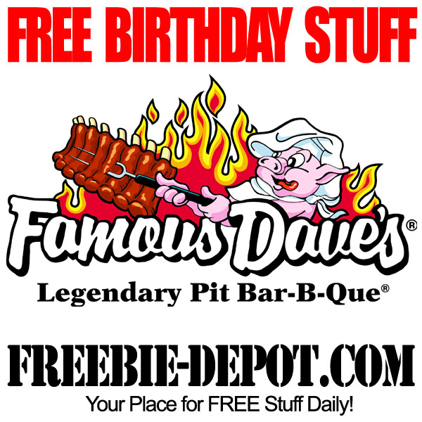 Free Birthday Bar-B-Que Ribs