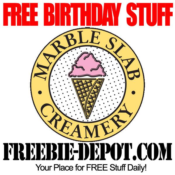 Free Birthday Waffle Ice Cream