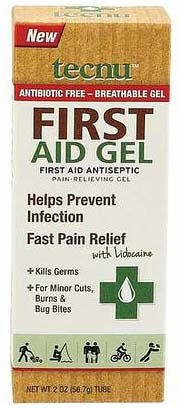 Free After Rebate First Aid Gel