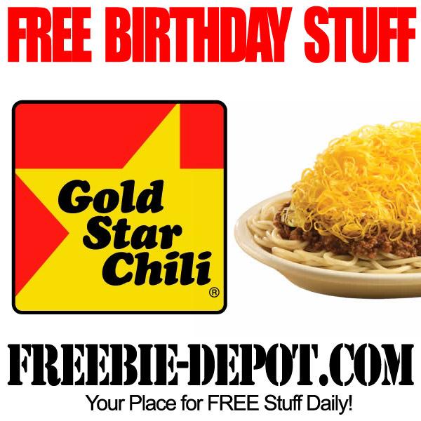 Free Birthday Chili