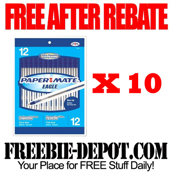 Free After Rebate Pens