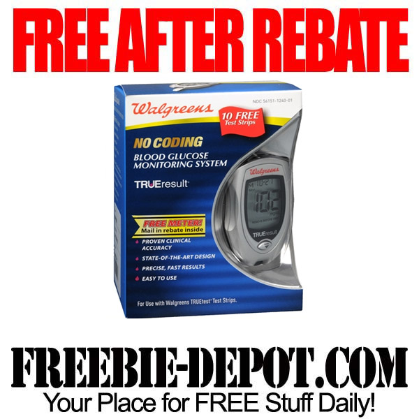 Free After Rebate Glucose Monitor