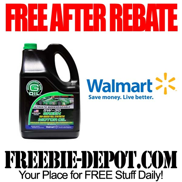 Free After Mail In Rebate Motor Oil