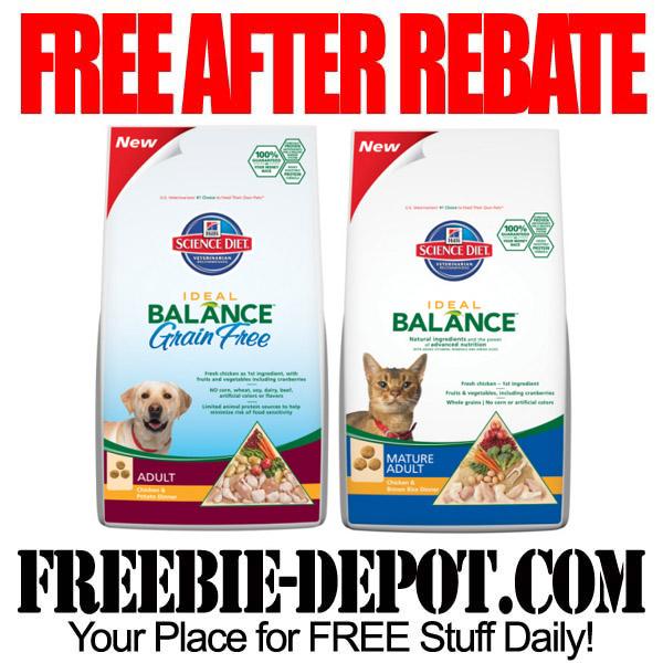 Free After Rebate Pet Food