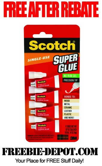 Free After Rebate Super Glue