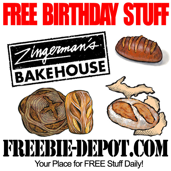 Free Birthday Bread