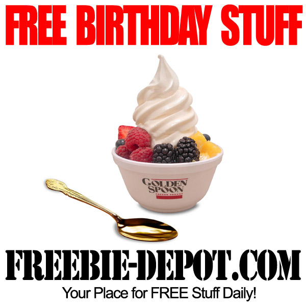 Free Birthday Stuff Frozen Yogurt