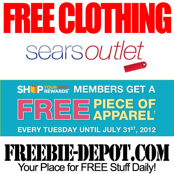 Free Clothing at Sears Outlet