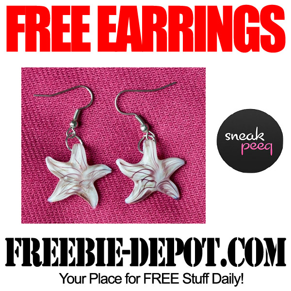 FREE Star Earrings