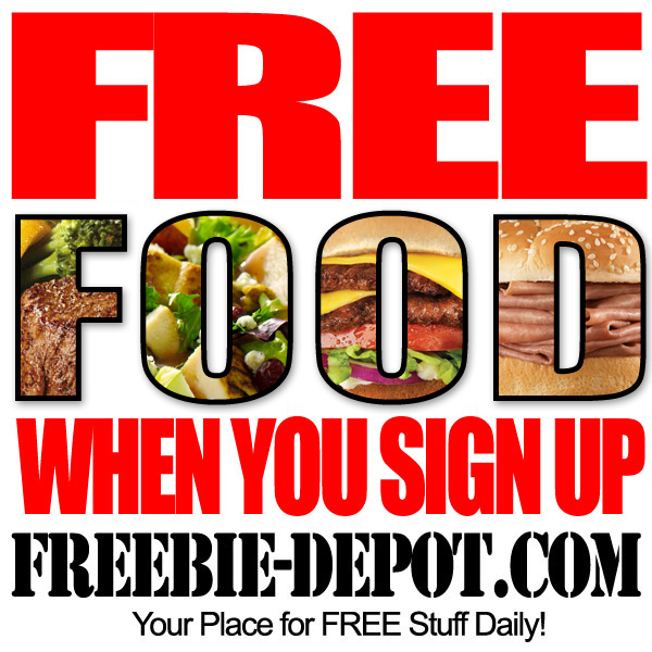 Free Food when you sign up!