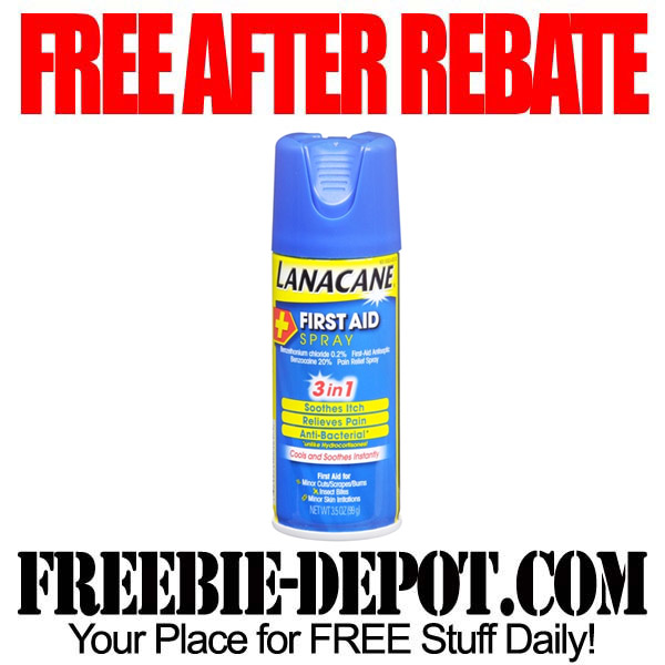 Free After Rebate First Aid Spray
