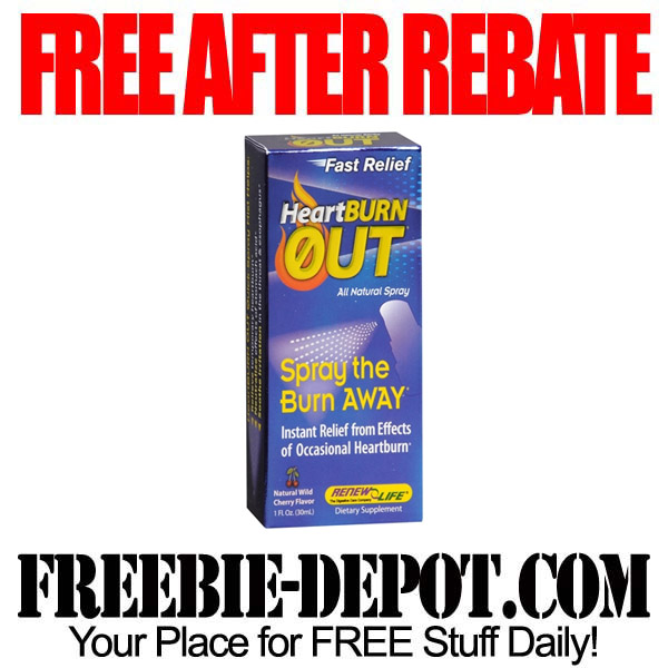 Free After Rebate Heartburn Medicine
