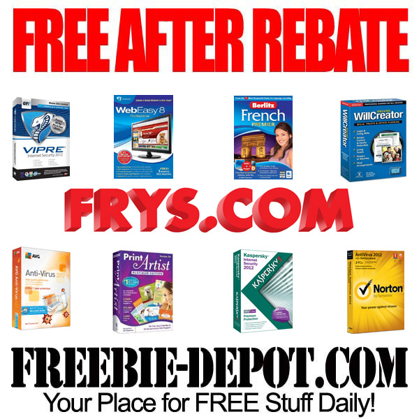Free After Rebate Soft Ware